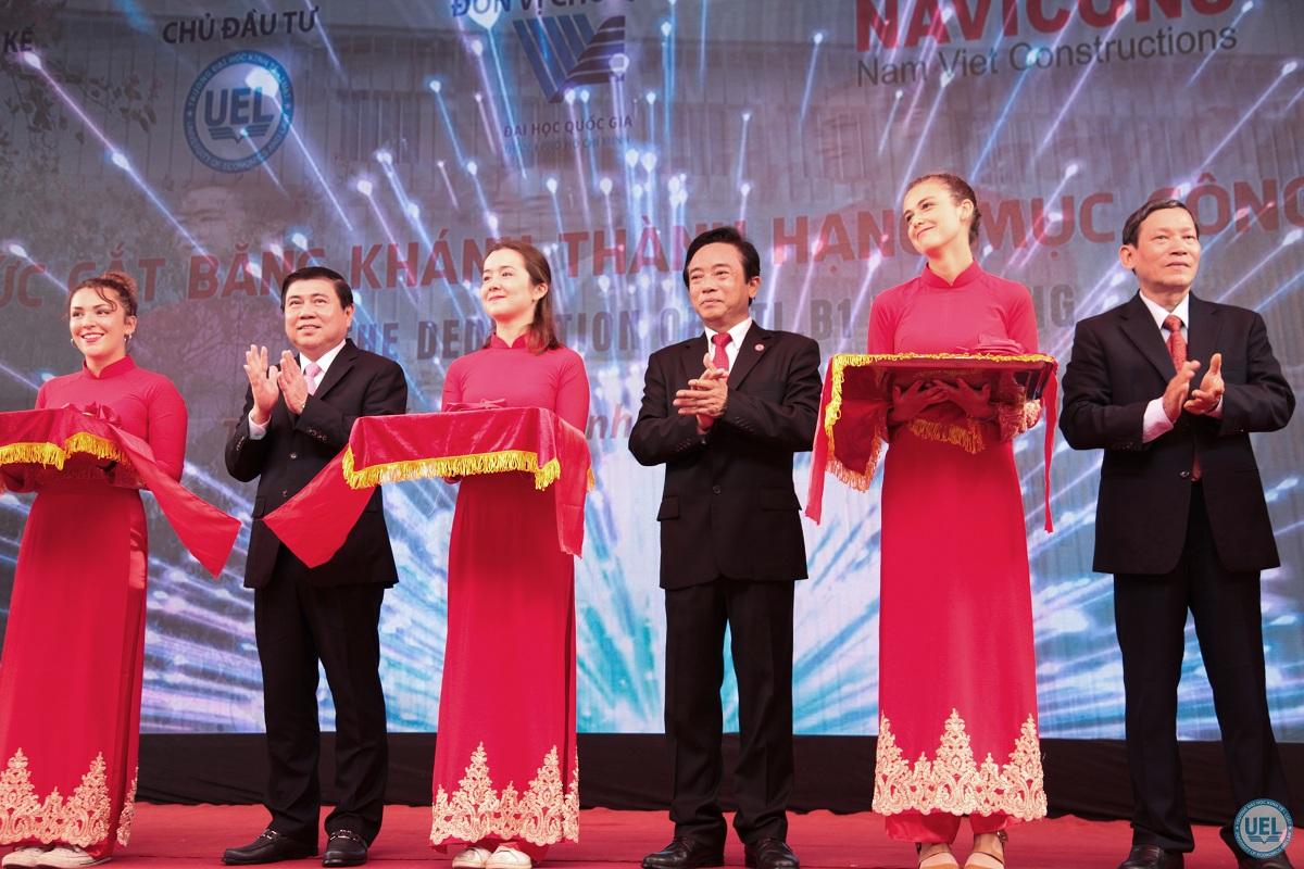 Lễ Khánh thành tòa nhà KTL.B1 và Khai giảng năm học mới Trường ĐH Kinh Tế Luật